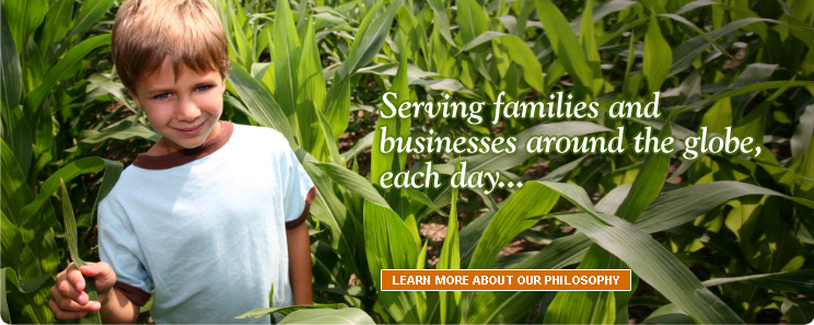 Serving families and 