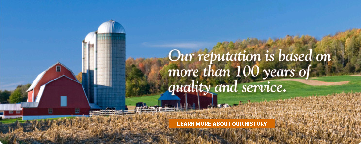 Our reputation is based on more than 100 years of quality and service.